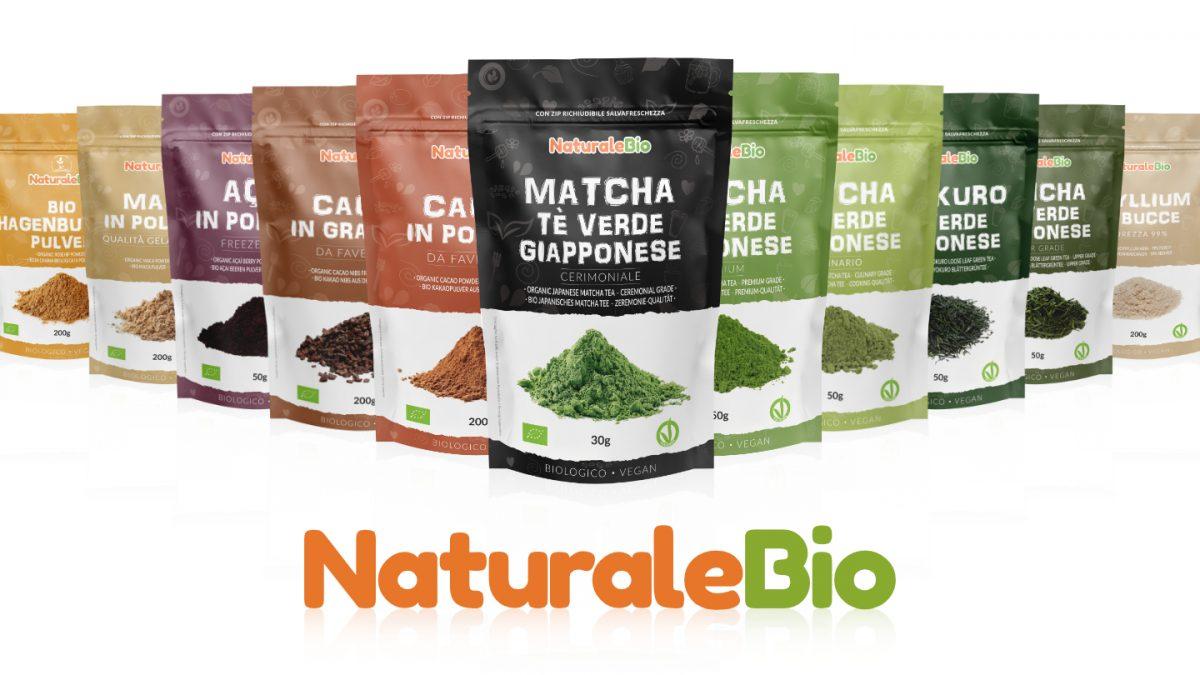 Nuovi pack - NaturaleBio - comunicato stampa